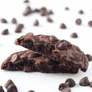 Mom's Double Chocolate Cookies