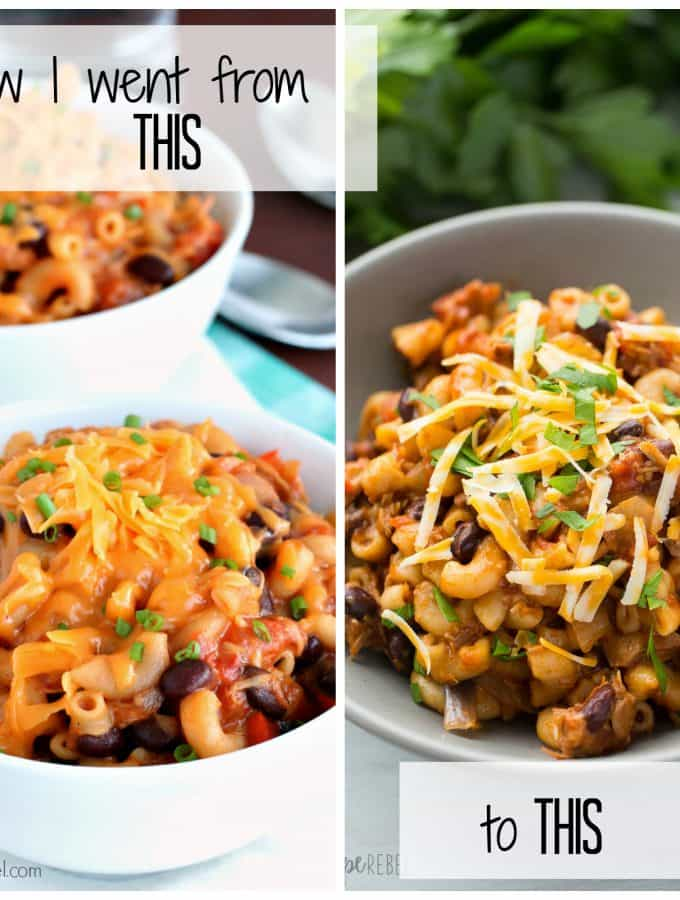 How to Make Food Look Good: Slow Cooker BBQ Chicken Chili Mac