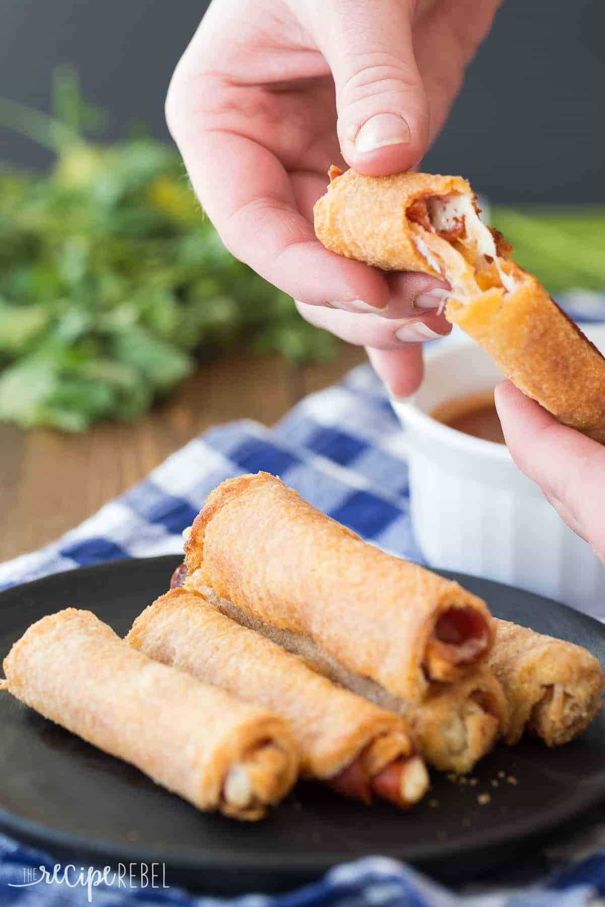 Easy Pizza Roll Ups A Game Day Appetizer