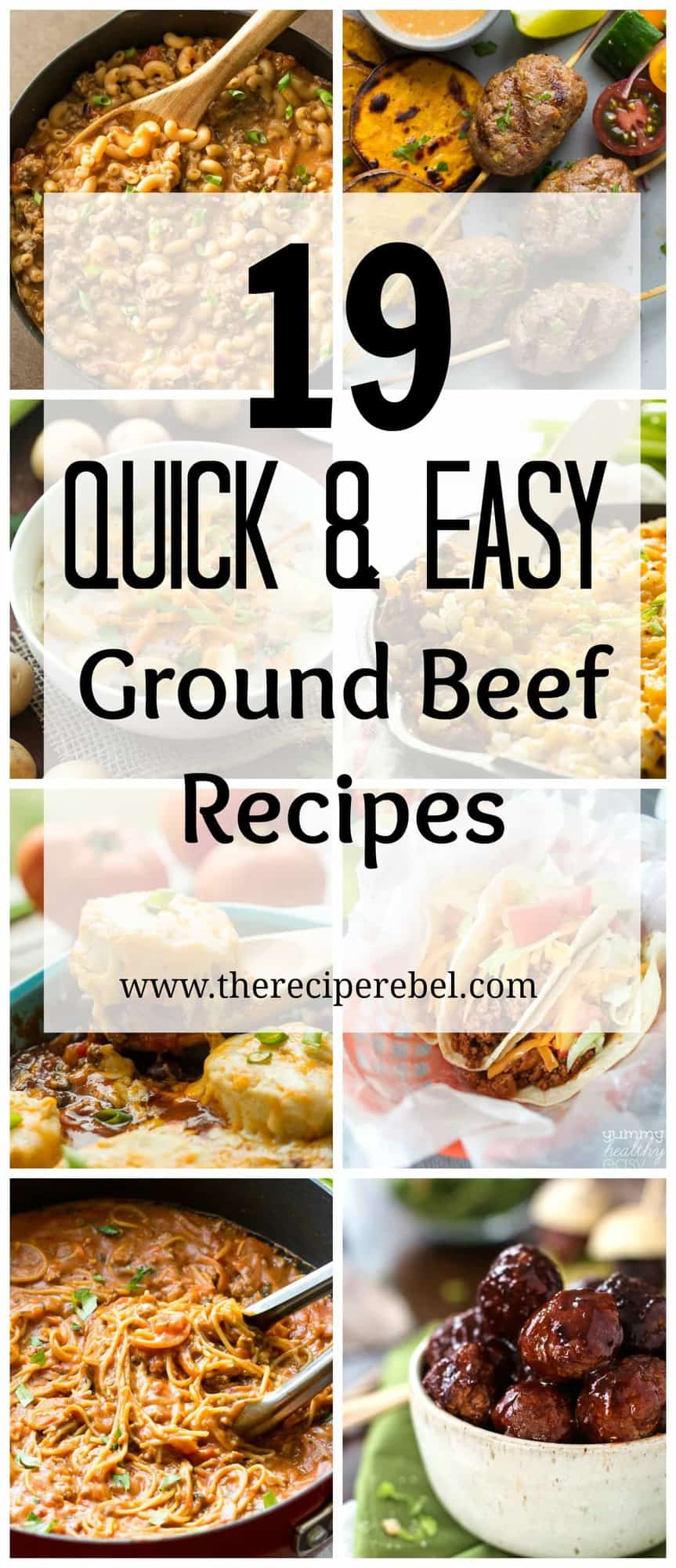 19 quick and easy ground beef recipes for Meals that can be made with ground beef