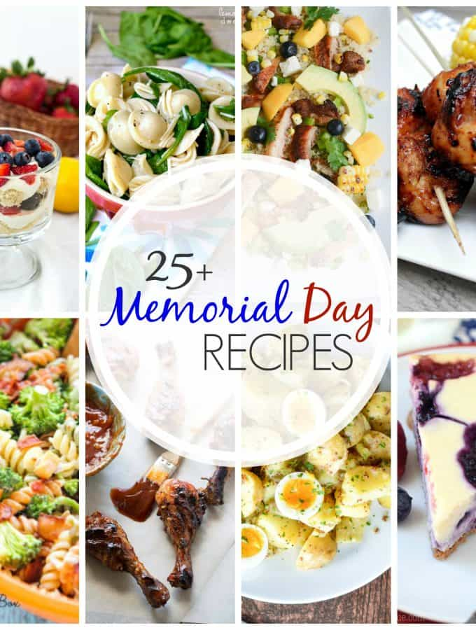 25+ Recipes for Memorial Day!