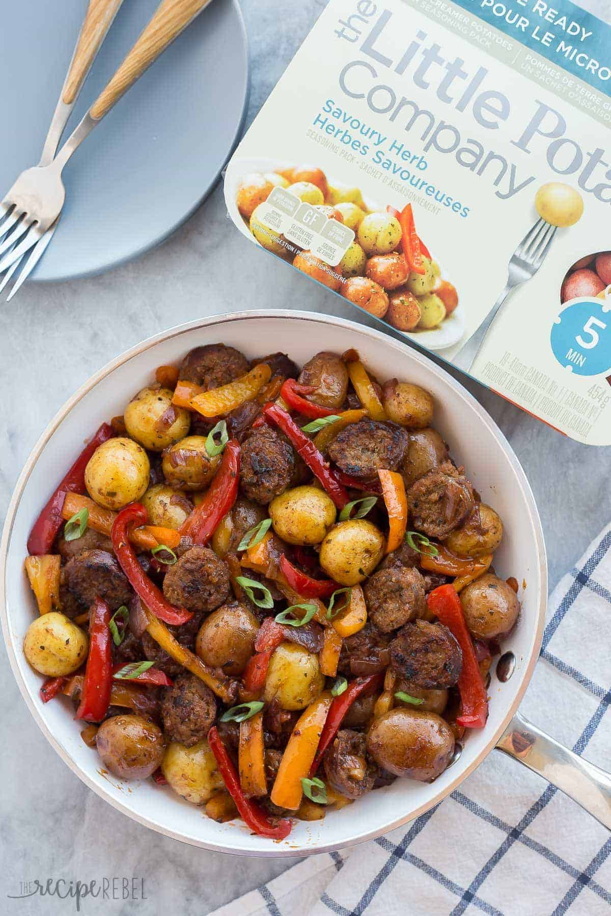 Easy One Skillet Meal 30 Minute Hearty Italian Sausage And