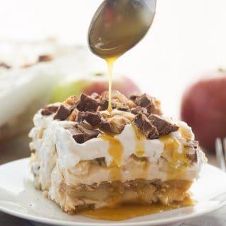 Snickers Apple Icebox Cake
