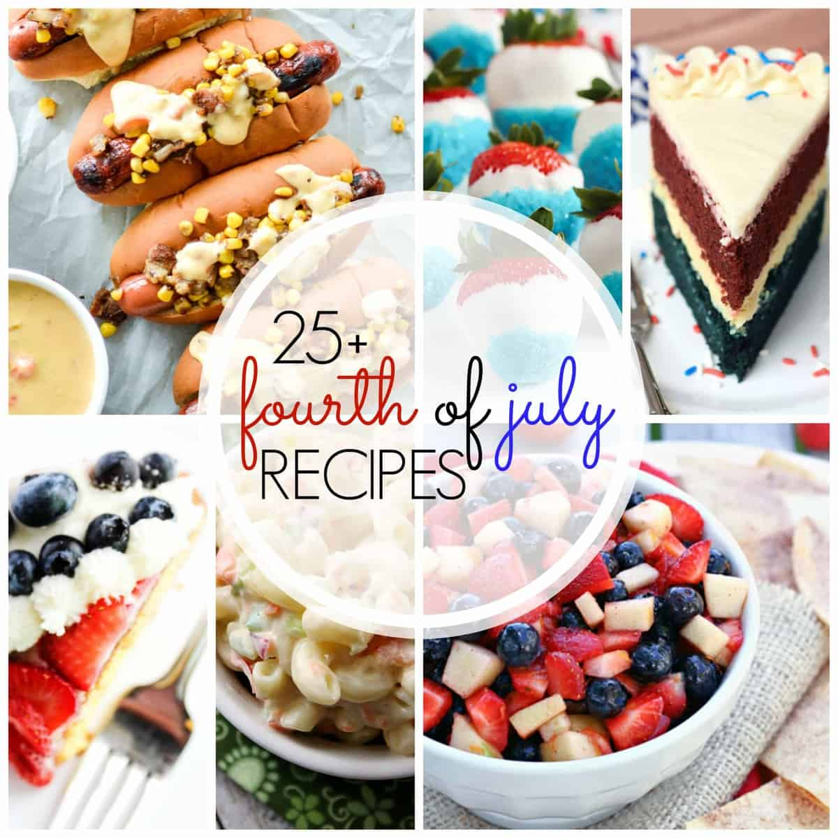 25 Recipes For July 4 And Canada Day