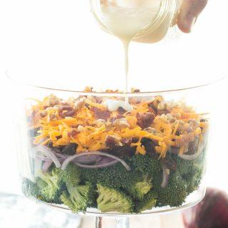 Layered Broccoli Salad