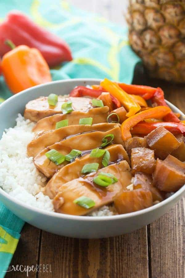 crockpot hawaiian chicken