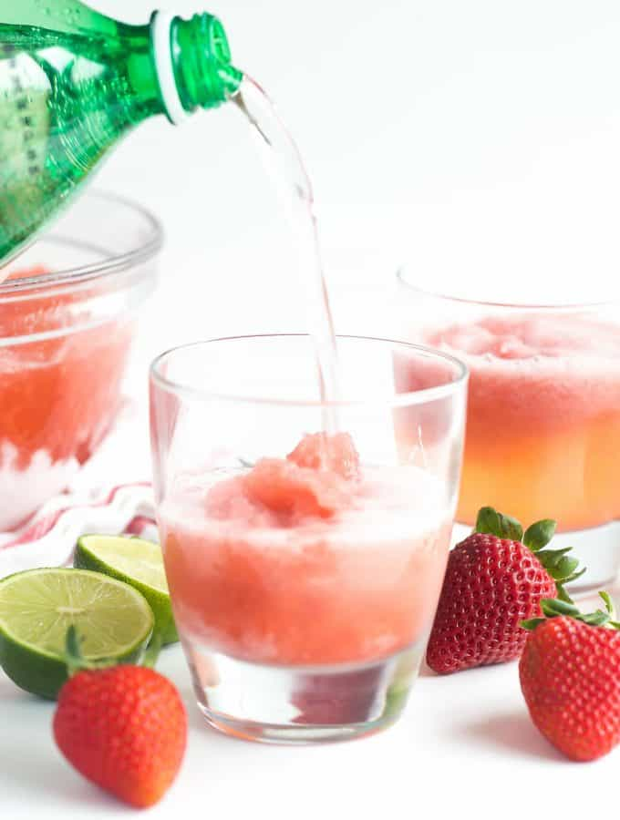 Berry Lime Slush Recipe
