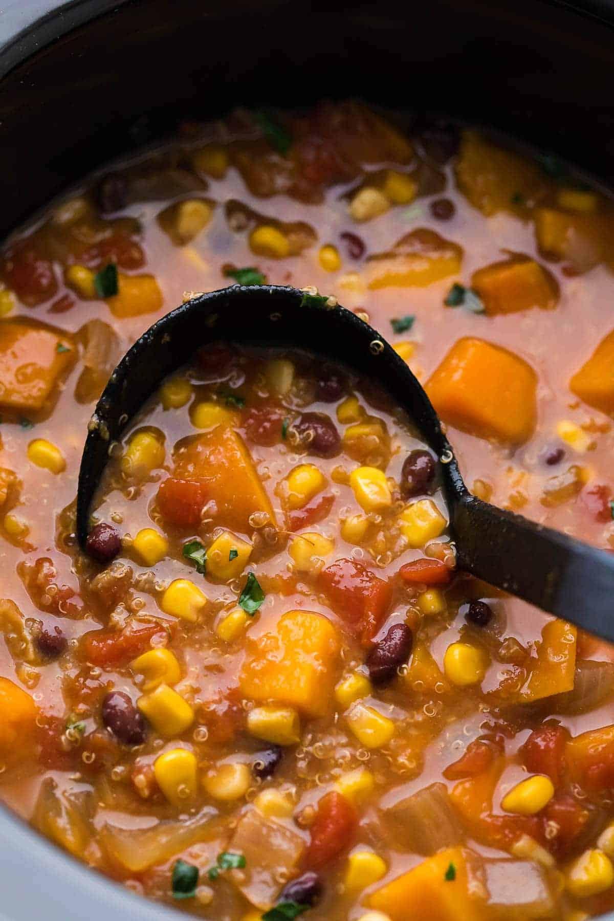 Slow Cooker Sweet Potato Oatmeal