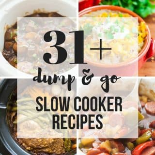 Dump and Go Slow Cooker Recipes (Easy Crock Pot Dump Meals)