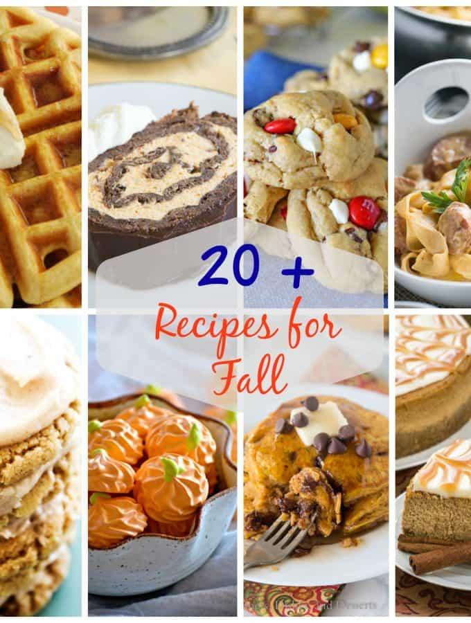 20+ Fall Recipes