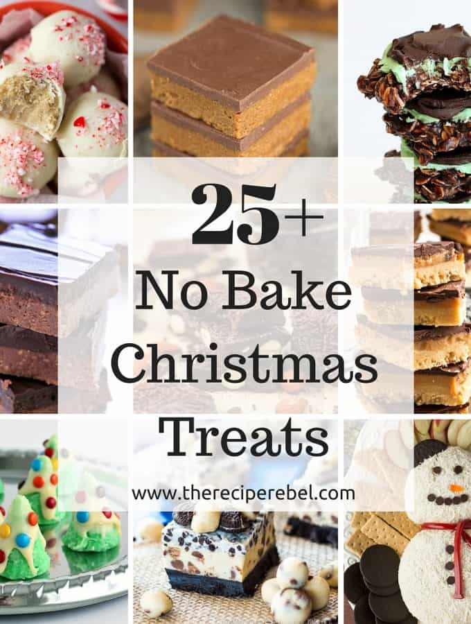 25+ No Bake Christmas Treats