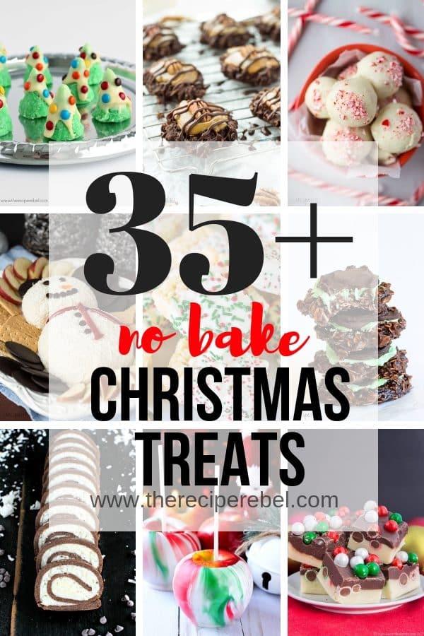 no bake easy christmas treats