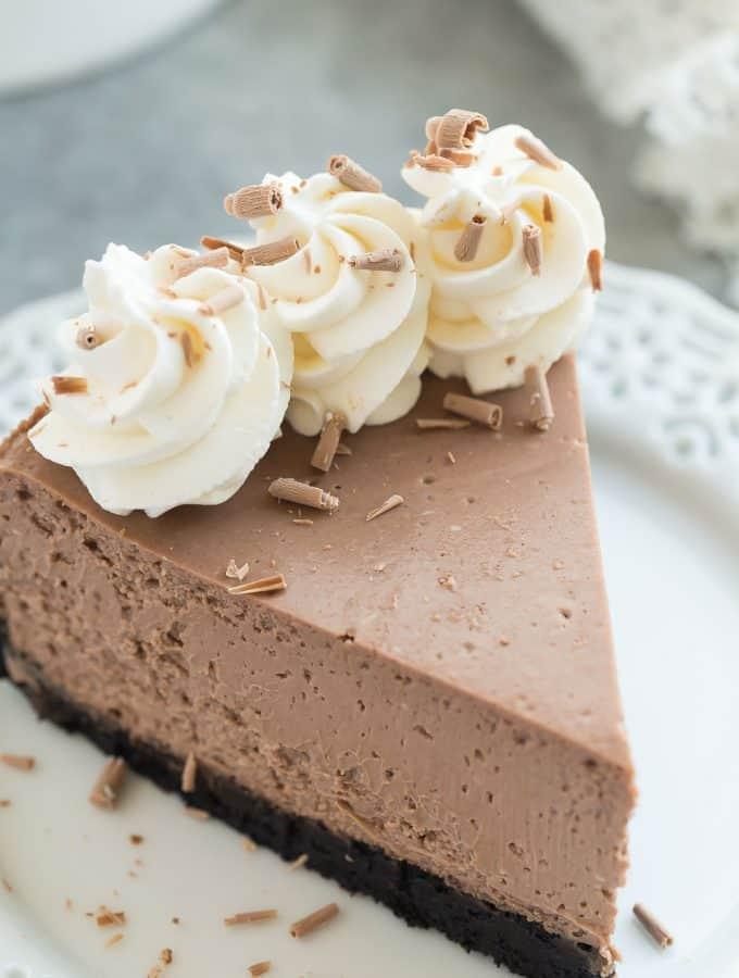 The Best Chocolate Cheesecake