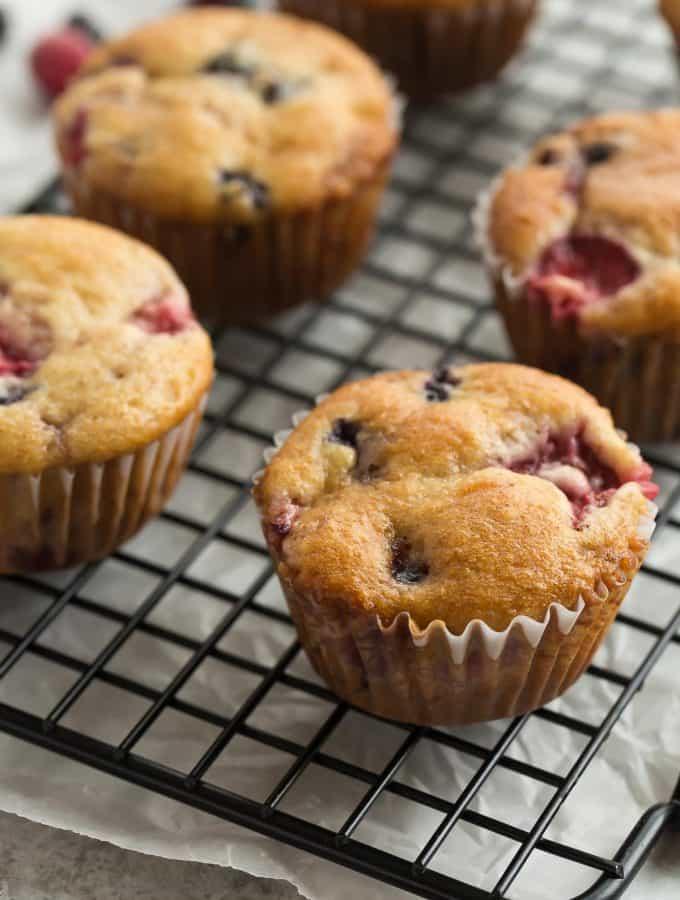 Fruit Explosion Muffins (Tim Horton's Copycat)