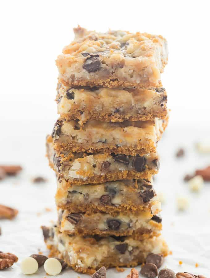 Seven Layer Magic Bars Recipe + VIDEO
