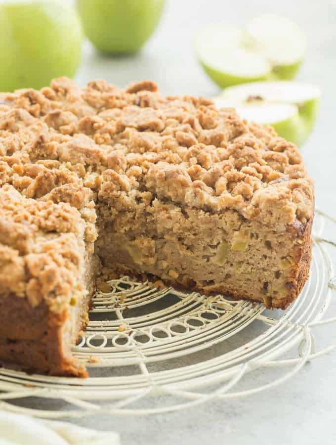 Apple Coffee Cake with Crumb Topping Recipe