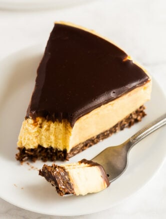 no bake nanaimo bar cheesecake