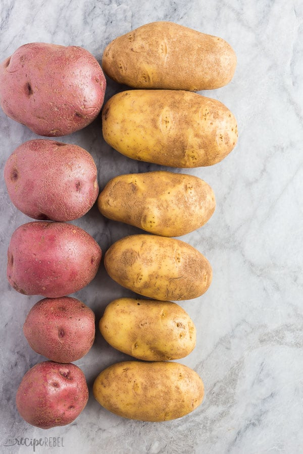 instant pot baked potatoes by size