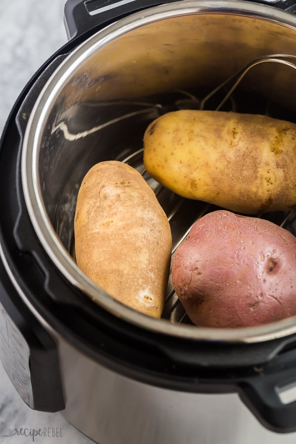pressure cooker baked potatoes in instant pot