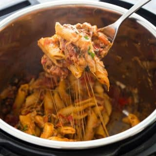Easy Instant Pot Baked Ziti Recipe + VIDEO