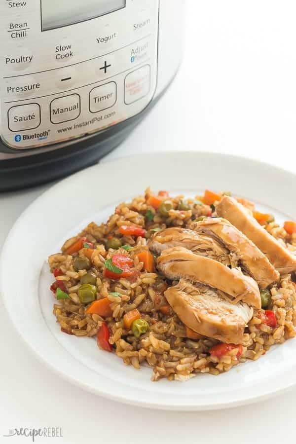 Instant Pot Teriyaki Chicken And Rice Recipe Pressure Cooker