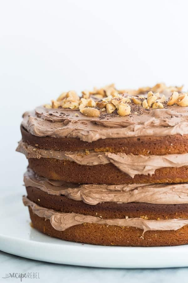 peanut butter cake peanut butter cake with chocolate cheese frosting recipe 6416