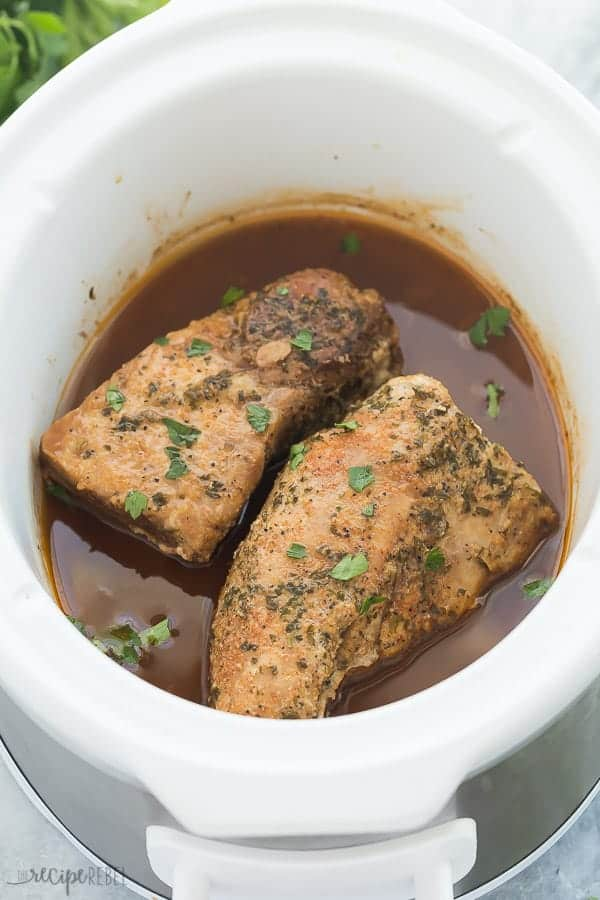 pork tenderloin in slow cooker whole