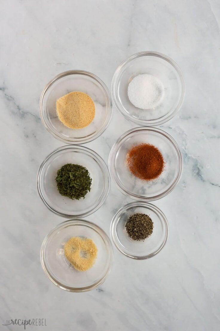 ingredients for slow cooker pork tenderloin rub