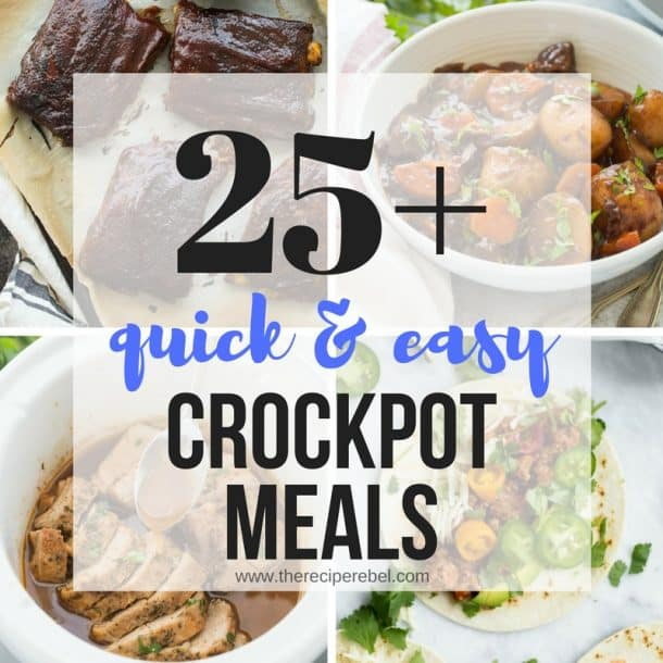 25+ Easy Crockpot Meals (slow Cooker Dinners You'll Make