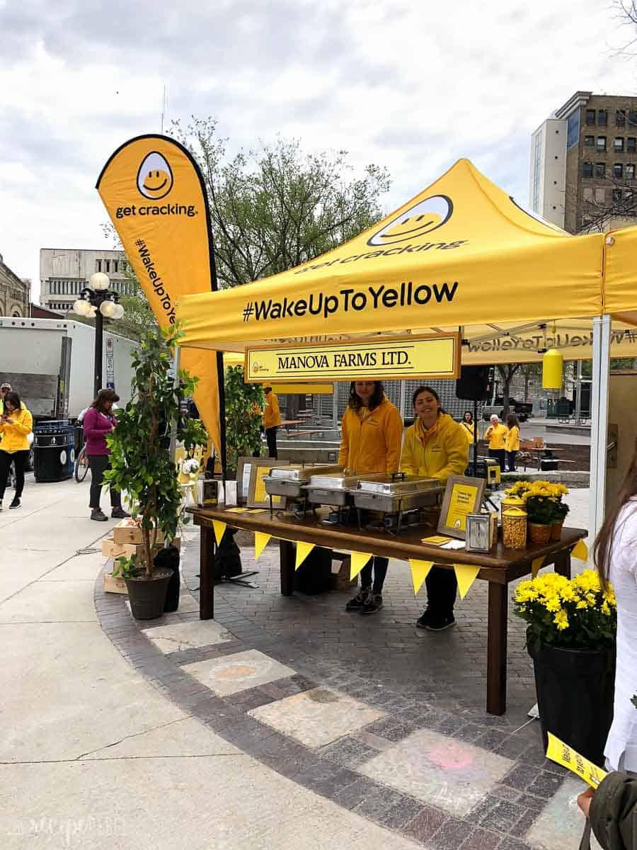 wake up to yellow event winnipeg