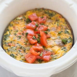 Crockpot Breakfast Casserole & the #WakeUpToYellow Event