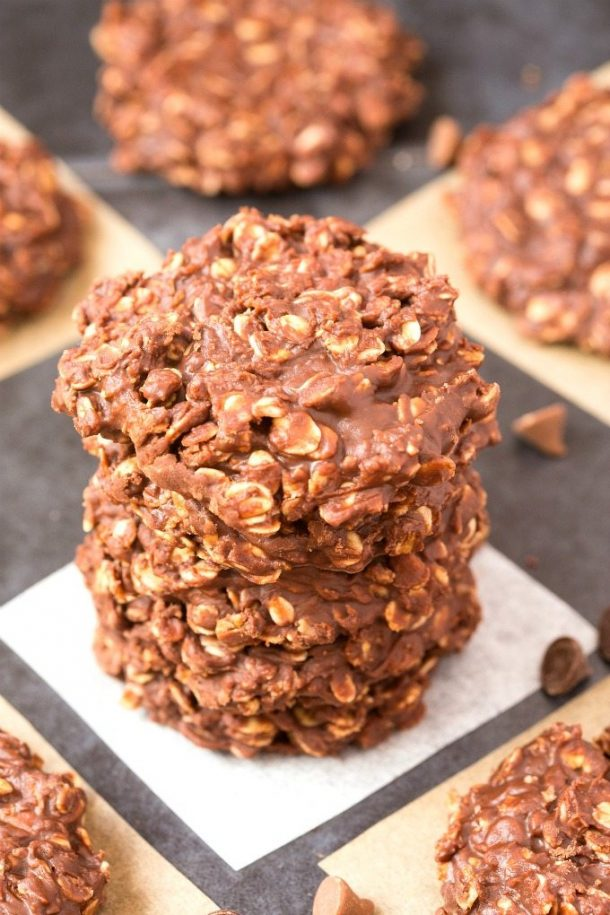 25 Easy No Bake Cookies Recipes The Recipe Rebel