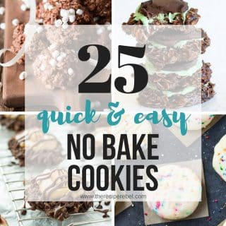 25 No Bake Cookies Recipes