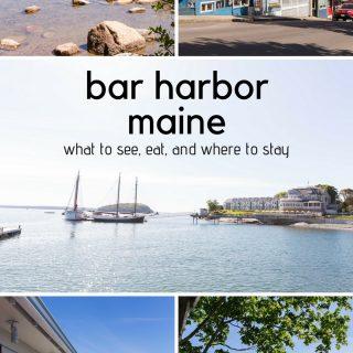 Bar Harbor, Maine: family-friendly restaurants and activities