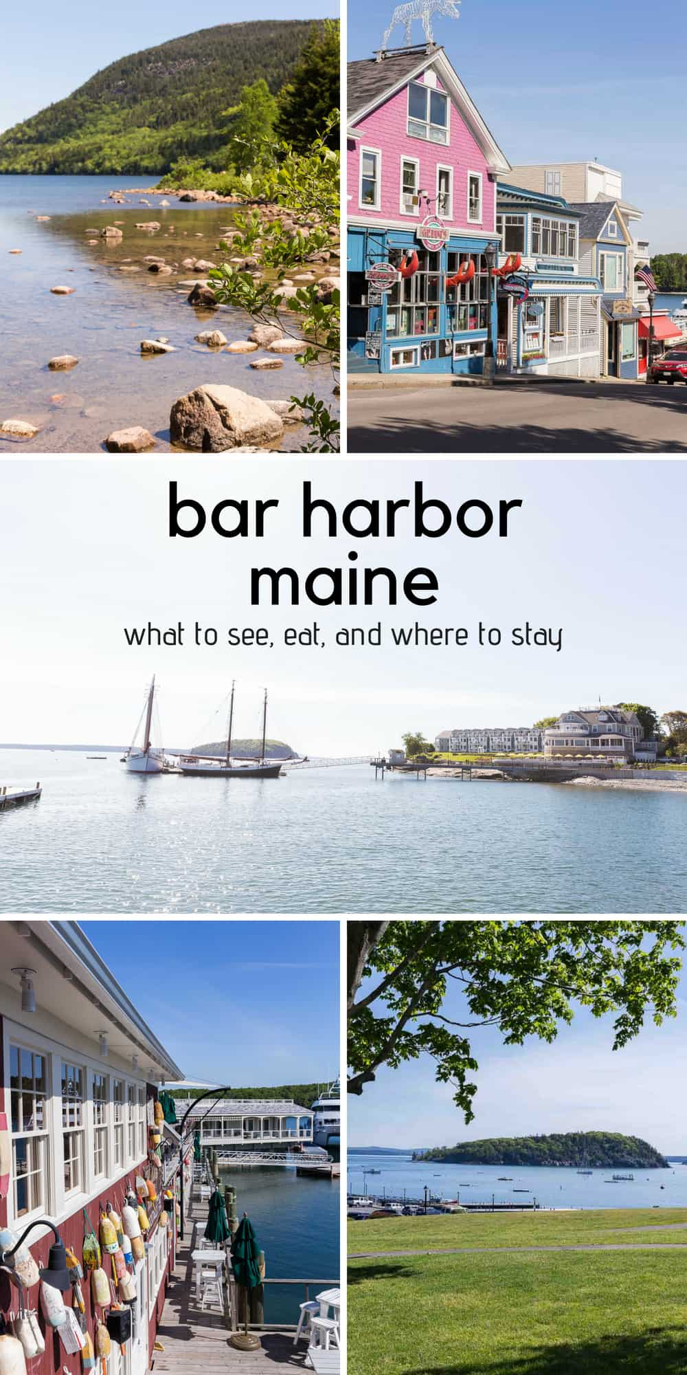 Our favorite things to do, see, and eat in Bar Harbor -- family-friendly Bar Harbor, Maine restaurants and attractions that the whole crew enjoys!