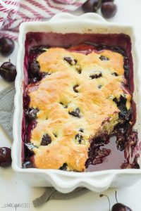 cherry cobbler side angle
