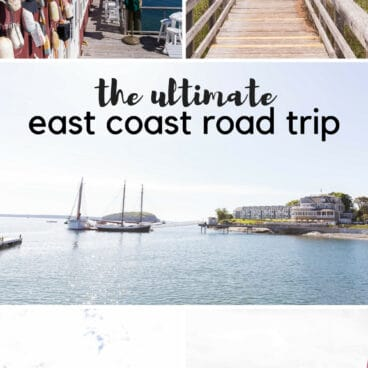 How to plan an East Coast Road Trip with kids! Where we went, what we did well, and what we would change. Plus our favorite road trip snacks and and the best road trip activities!