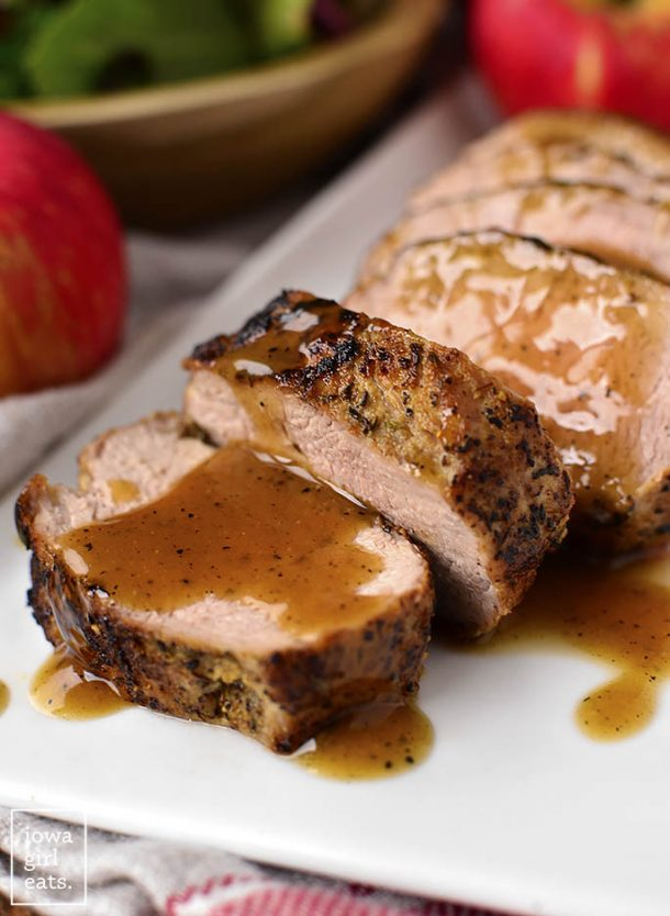 maple pork tenderloin