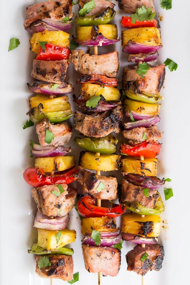 pork tenderloin skewer recipes