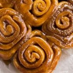 cinnamon buns overhead