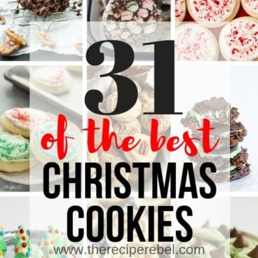 best christmas cookies collage