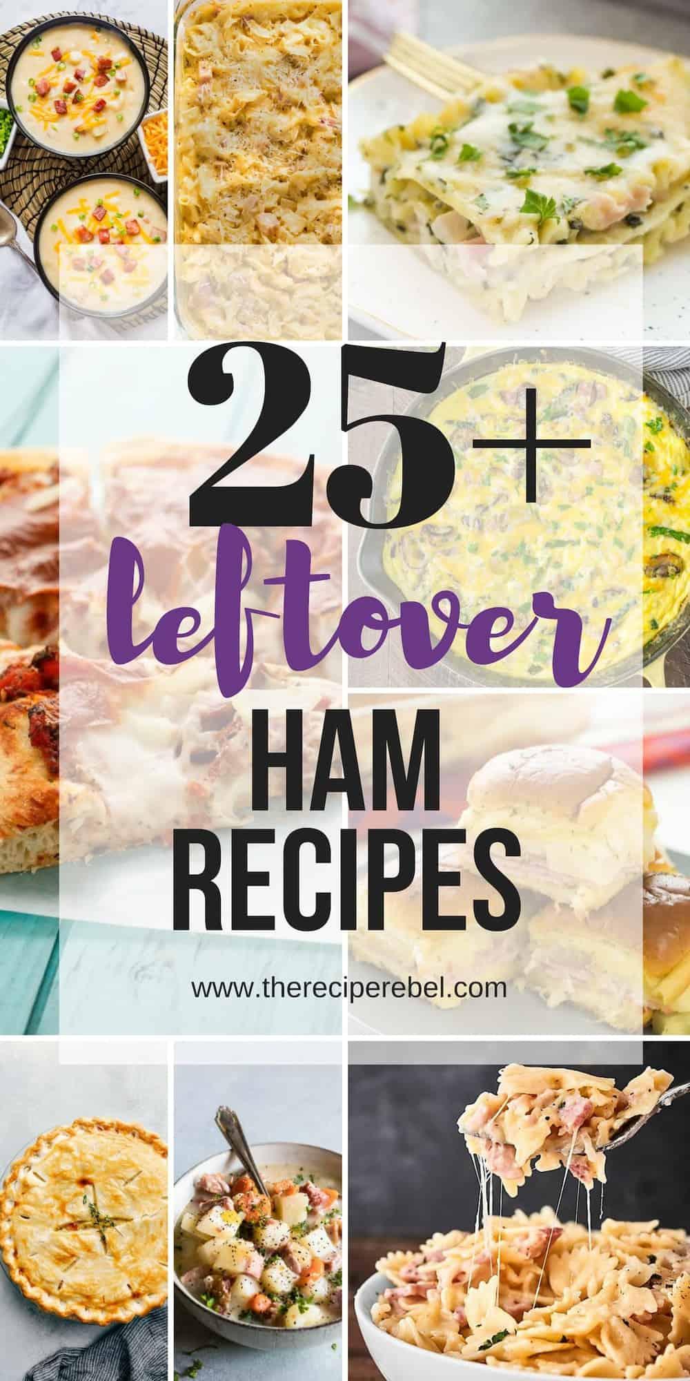 leftover ham recipes long collage
