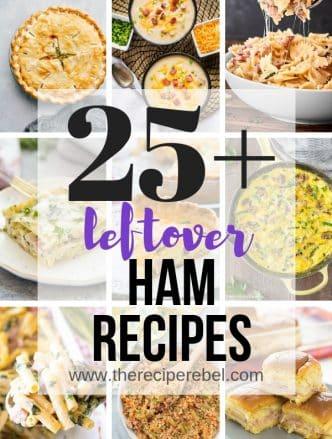 leftover ham collage 2