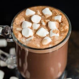Crockpot Hot Chocolate — easy and homemade!