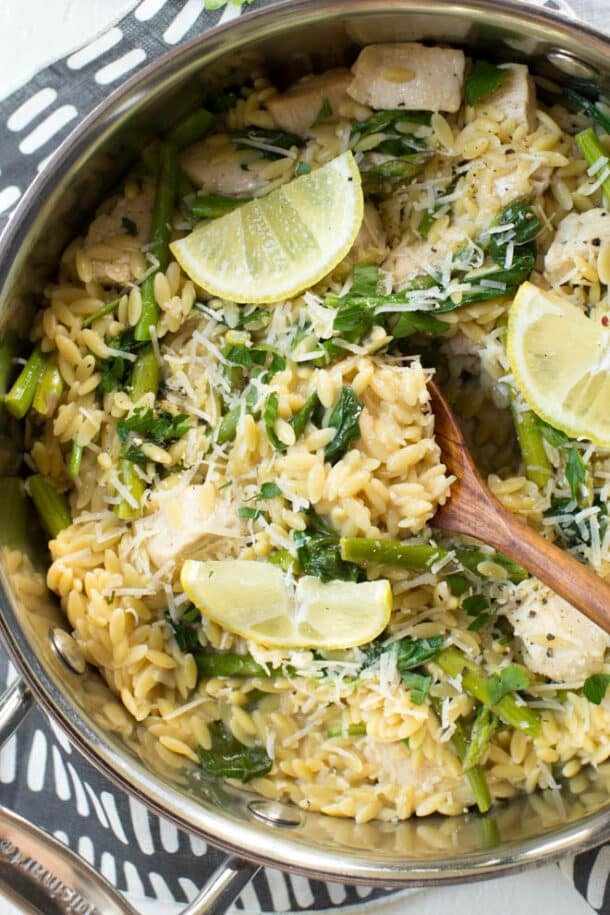one pot lemon chicken orzo