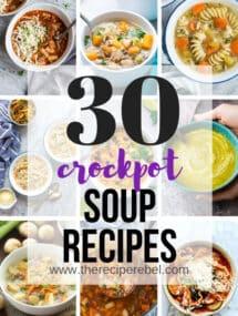 crockpot soup recipes slow cooker