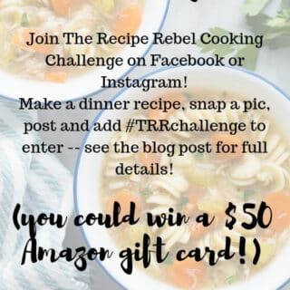 The Recipe Rebel Cooking Challenge