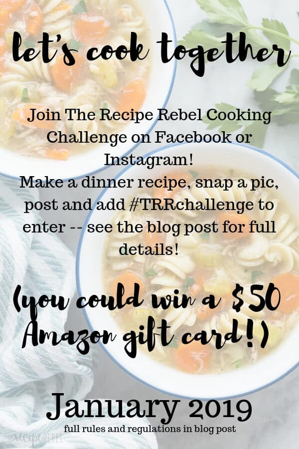 trr cooking challange january graphic