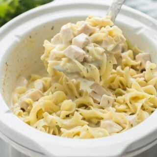 Crockpot Chicken and Noodles recipe