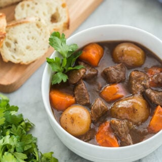Honey Balsamic Instant Pot Beef Stew recipe